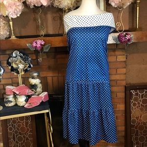 VINTAGE 1980'S SKIRT AND OFF THE SHOULDER SET (1X)